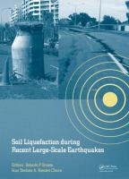 Cover image for Soil liquefaction during recent large-scale earthquakes : selected papers from the New Zealand - Japan Workshop on Soil Liquefaction During Recent Large-Scale Earthquakes, Auckland, New Zealand, 2-3 December 2013