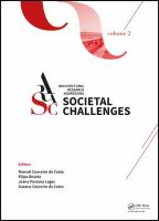 Cover image for Architectural Research Addressing Societal Challenges