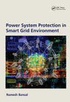 Cover image for Power system protection in smart grid environments