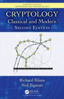 Cover image for CRYPTOLOGY : Classical and Modern