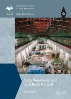 Cover image for Rock Reinforcement and Rock Support