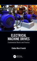 Cover image for Electrical machine drives : fundamental basics and practice