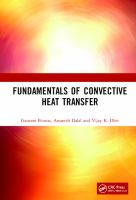 Cover image for Fundamentals of Convective Heat Transfer