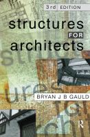 Cover image for STRUCTURES FOR ARCHITECTS