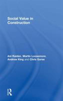 Cover image for Social Value in Construction