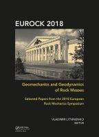 Cover image for Geomechanics and Geodynamics of Rock Masses : Selected Papers from the 2018 European Rock Mechanics Symposium