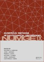 Cover image for Numerical Methods in Geotechnical Engineering IX : PROCEEDINGS OF THE 9TH EUROPEAN CONFERENCE ON NUMERICAL METHODS IN GEOTECHNICAL ENGINEERING (NUMGE 2018), June 25-27 2018, Porto, Portugal