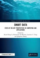 Cover image for Smart Data : State-of-the-Art Perspectives in Computing and Applications