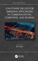 Cover image for Low-Power Circuits for Emerging Applications in Communications, Computing, and Sensing