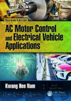 Cover image for AC motor control and electrical vehicle applications