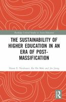 Cover image for The Sustainability of Higher Education in an Era of Post-Massification