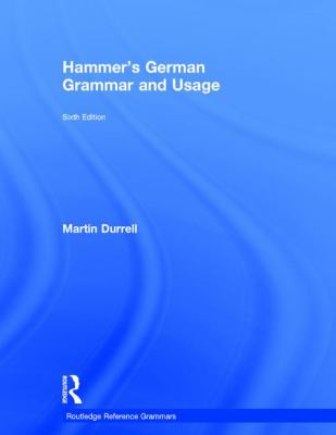 Cover image for Hammer's GERMAN Grammar and Usage