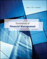 Cover image for Foundations of financial management