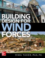 Cover image for Building Design for Wind Forces