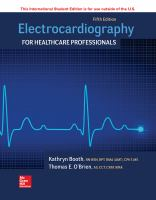 Cover image for ELECTROCARDIOGRAPHY FOR HEALTHCARE PROFESSIONALS