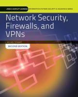 Cover image for Network security firewalls, and VPNs