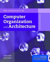 Cover image for The essentials of computer organization and architecture