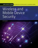 Cover image for Wireless and mobile device security