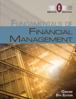Cover image for Fundamentals of financial management