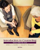 Cover image for Introduction to counseling : voices from the field