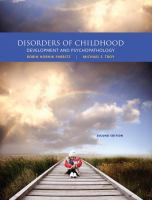 Cover image for Disorders of childhood : development and psychopathology
