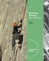 Cover image for Marketing strategy : text and cases