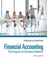 Cover image for Financial accounting : the impact on decision makers