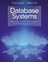 Cover image for Database systems : design, implementation, and management