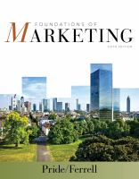 Cover image for Foundations of marketing