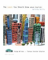 Cover image for The least you should know about English : writing skills