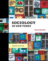 Cover image for Sociology in our times