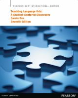 Cover image for Teaching language arts : a student-centered classroom