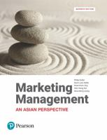 Cover image for Marketing management : an Asian perspective