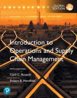Cover image for INTRODUCTION TO OPERATIONS AND SUPPLY CHAIN MANAGEMENT