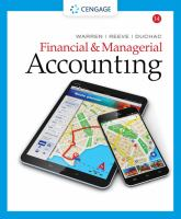 Cover image for Financial and Managerial Accounting
