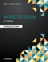 Cover image for WEB DESIGN : INTRODUCTORY