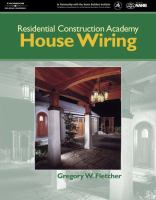 Cover image for Residential construction academy : house wiring