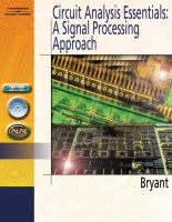 Cover image for Circuit analysis essentials a signal processing approach