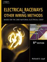 Cover image for Electrical raceways & other wiring methods