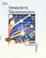 Cover image for Introduction to telecommunications
