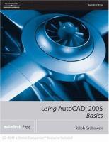 Cover image for Using AutoCAD 2005 : basics