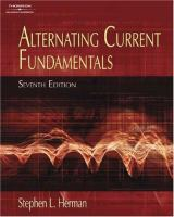 Cover image for Alternating current fundamentals