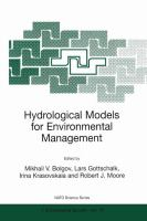 Cover image for Hydrological models for environmental management