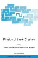 Cover image for Physics of laser crystals