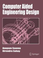 Cover image for Computer aided engineering design