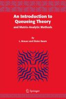 Cover image for An introduction to queueing theory and matrix-analytic methods
