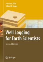 Cover image for Well logging for earth scientists