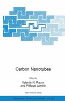Cover image for Carbon nanotubes : from basic research to nanotechnology