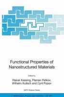 Cover image for Functional properties of nanostructured materials