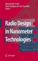 Cover image for Radio design in nanometer technologies